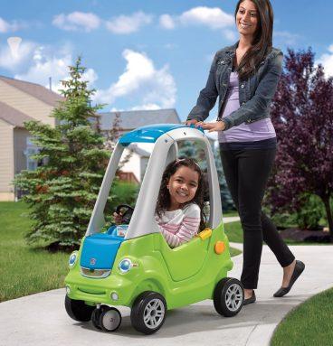 Carrito Coupe de giro fácil-Verde