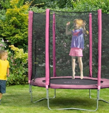TRAMPOLIN 6FT ROSADO