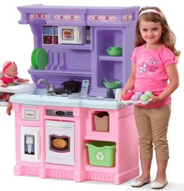 Cocina custom lila