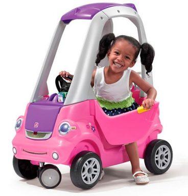 Carrito Coupe de giro fácil-Rosado